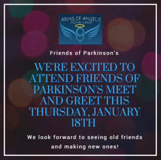We're Excited To Attend Friends of Parkinson's Meet and Greet!